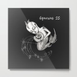 Aquarius Metal Print