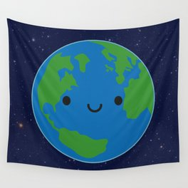Planet Earth Wall Tapestry