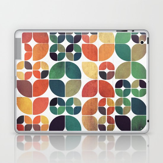 Vintage Fall Pattern Laptop & iPad Skin