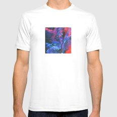 untitled White Mens Fitted Tee MEDIUM