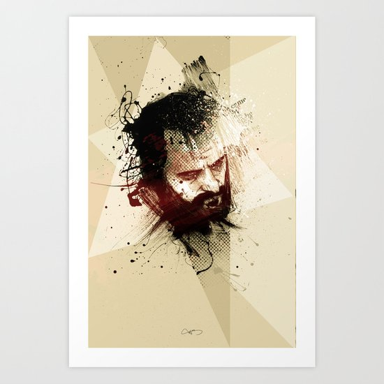 selfportrait#3 Art Print