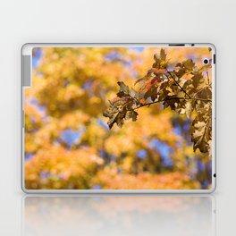 Autumn Orange Backdrop Laptop & iPad Skin