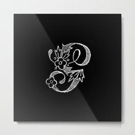 G Monogram Metal Print