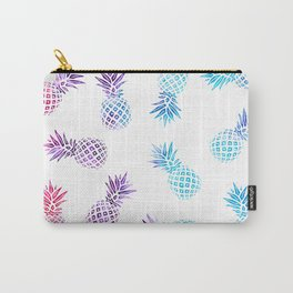 Pineapple Paradise Pattern Carry-All Pouch