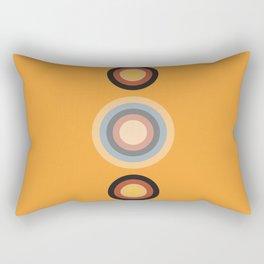 Circles in the Sand Rectangular Pillow