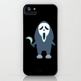grimace of terror iPhone Case