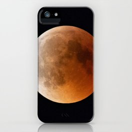 Magical Full Moon iPhone Case