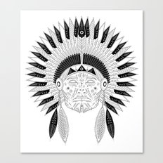 Snapped Up Market - Cowboys & Indians Canvas Print