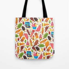 Ice-Cream Pattern Tote Bag