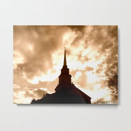 Heavenly Sight Metal Print