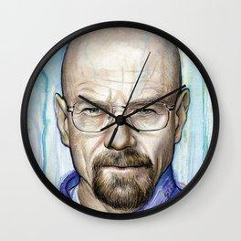Walter White Portrait Wall Clock