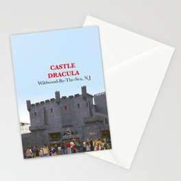 Castle Dracula on the Boardwalk in Wildwood, New Jersey Stationery Cards