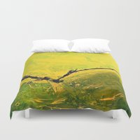 flight Duvet Covers featuring Flight by RvHART