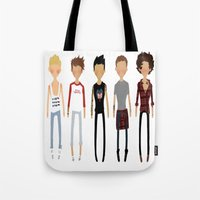 cargline Tote Bags featuring Simplicity by cargline