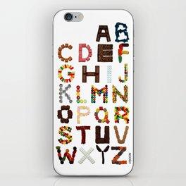 Candy Alphabet iPhone Skin