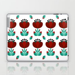 Tulip and Love Leaf Laptop & iPad Skin