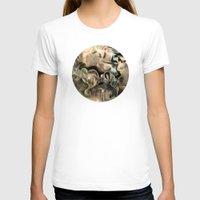 noir T-shirts featuring Fluidity Noir by Mat Miller