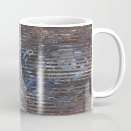Abstract blue and brown Coffee Mug