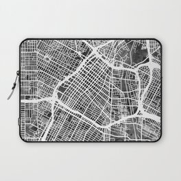 Los Angeles City Street Map Laptop Sleeve