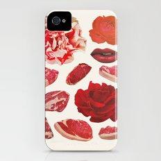 RED iPhone (4, 4s) Slim Case