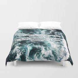 Jeremiah Ocean Duvet Cover