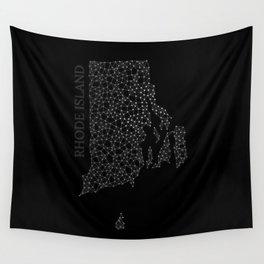 Rhode Island LineCity B Wall Tapestry