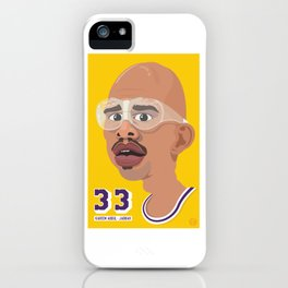 Kareem iPhone Case