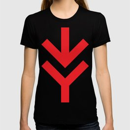 Red Arrow Down T-shirt