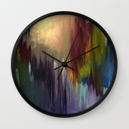 The Messenger Abstract Wall Clock