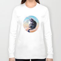 space cat Long Sleeve T-shirts featuring Space Cat by Catus