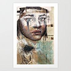 Indelicate Eyes Art Print