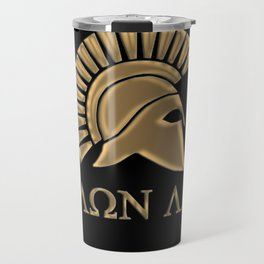 Molon lave-Spartan Warrior Travel Mug