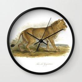 India Mainless Lion Wall Clock
