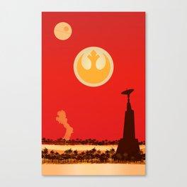 Save the Rebellion Canvas Print
