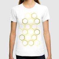 honeycomb T-shirts featuring Honeycomb by Thomas Knapp