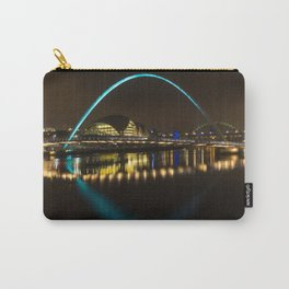 Newcastle at night Carry-All Pouch