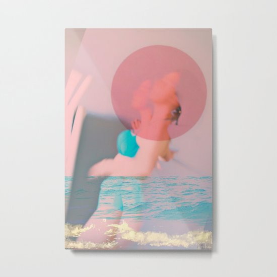 Swim Outside of Your Own Bubble, You're Going to Drown Metal Print