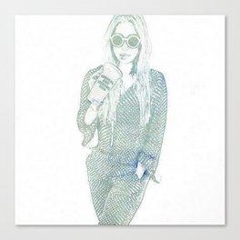 Kesha Rose Sebert Canvas Print
