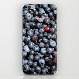 Wild Blueberries iPhone Skin