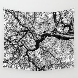 Tree Distributary  Wall Tapestry