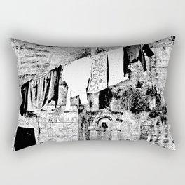 Sassi di Matera: laundry Rectangular Pillow
