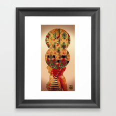 SEE OF CONSCIOUSNESS Framed Art Print