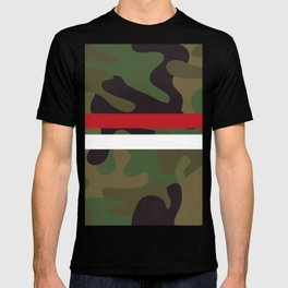 Pattern Army Camouflage T-shirt