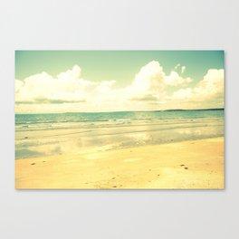 beachrace Canvas Print