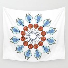 Mononoke Mandala Wall Tapestry