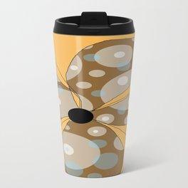 FLOWERY  LILY / ORIGINAL DANISH DESIGN bykazandholly Travel Mug