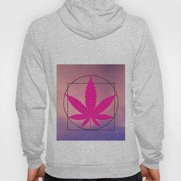 vitruvian marijuana Hoody
