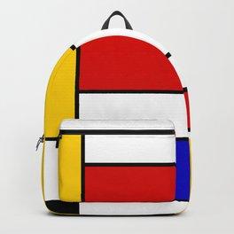 Mondrian Block Backpack