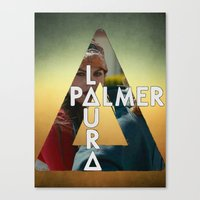 laura palmer Canvas Prints featuring Bastille - Laura Palmer by Thafrayer