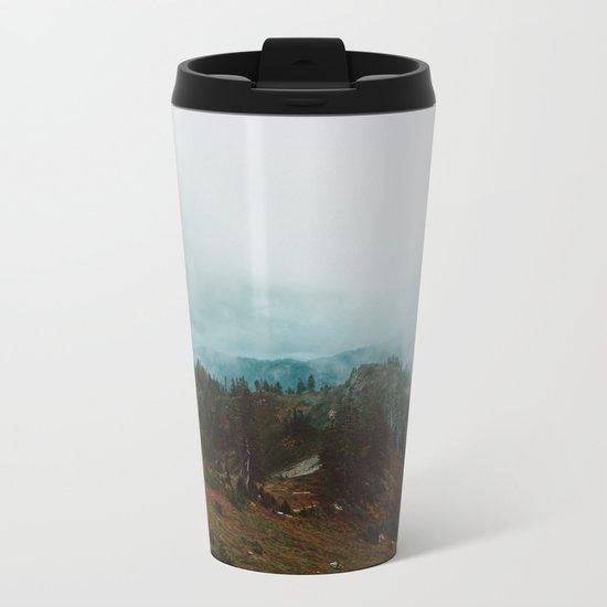 Park Butte Lookout - Washington State Metal Travel Mug